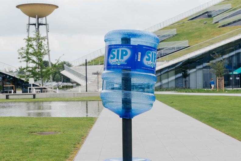 De hydratour van Sipwell