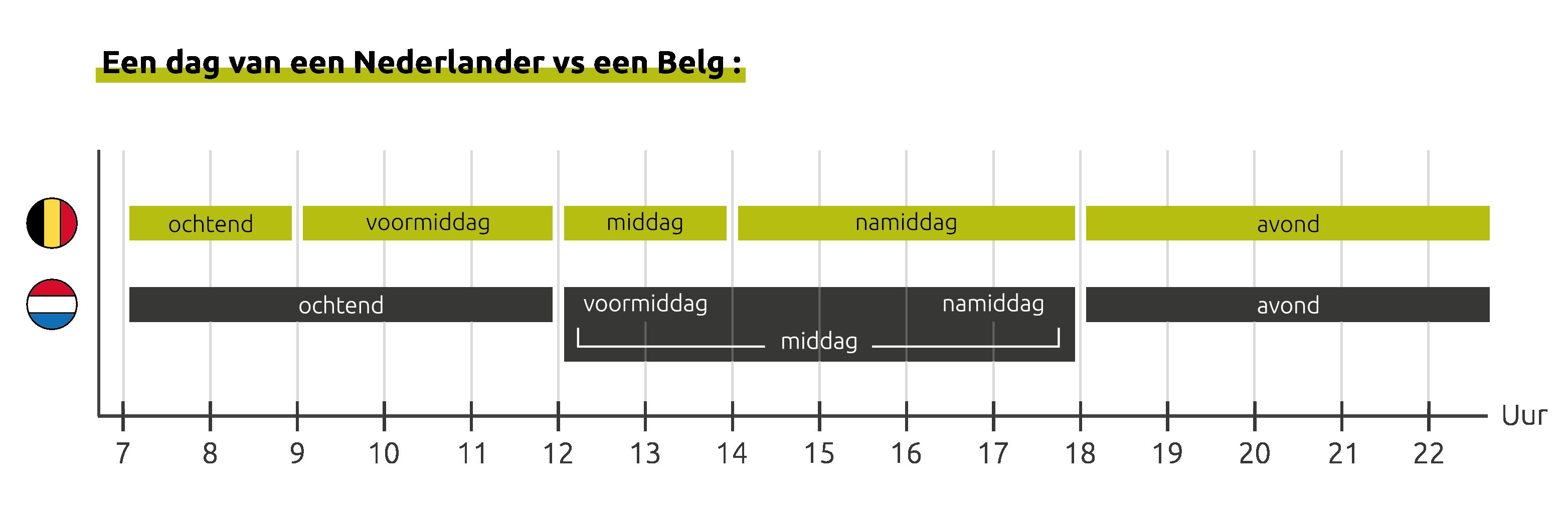 Vlaams en Nederlands - wereld van verschilt