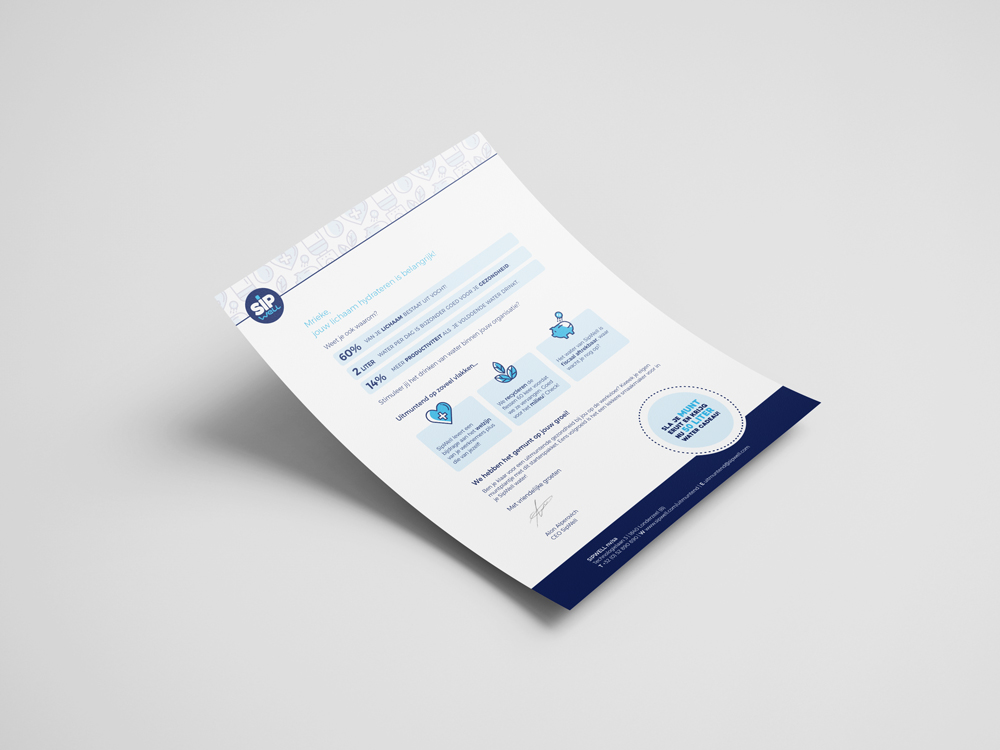 Sipwell direct mailing brief