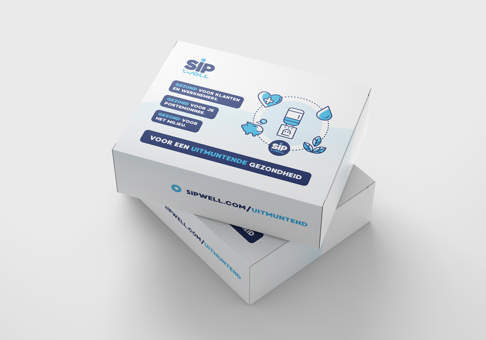 SipWell direct mailing