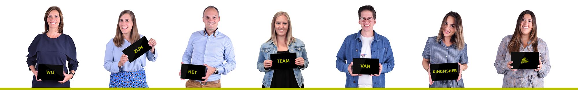 Team Kingfisher marketing