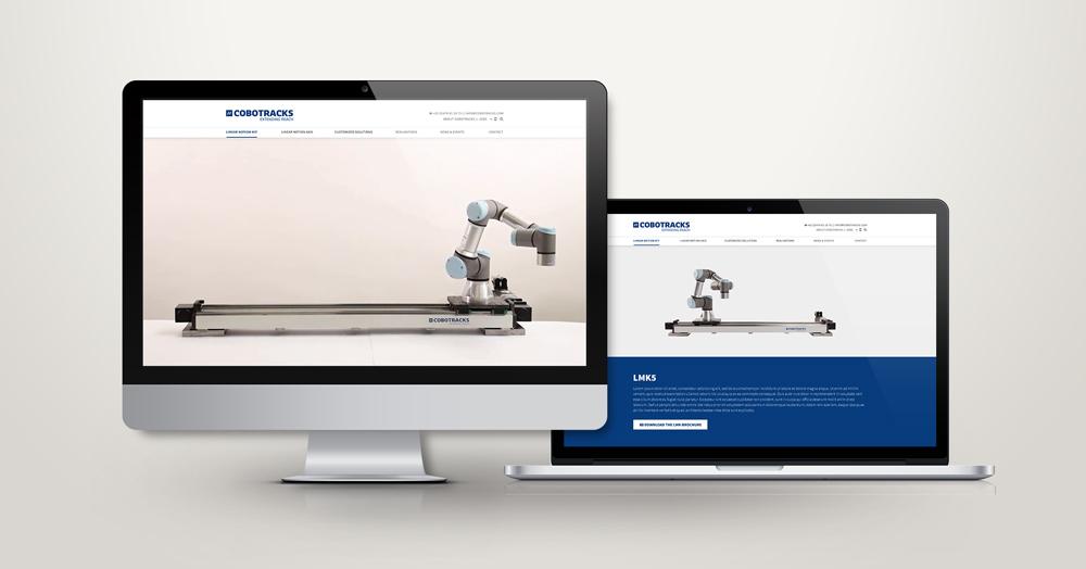 Cobotracks - website