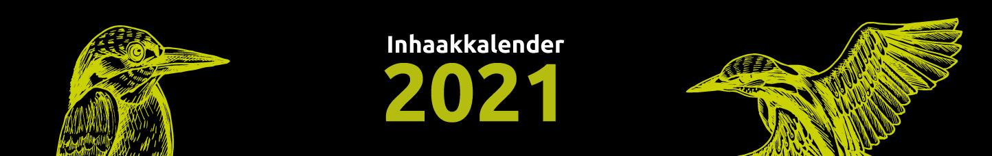 inhaakkalender 2021