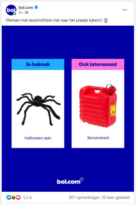 Inhaakkalender - bol.com - Halloween