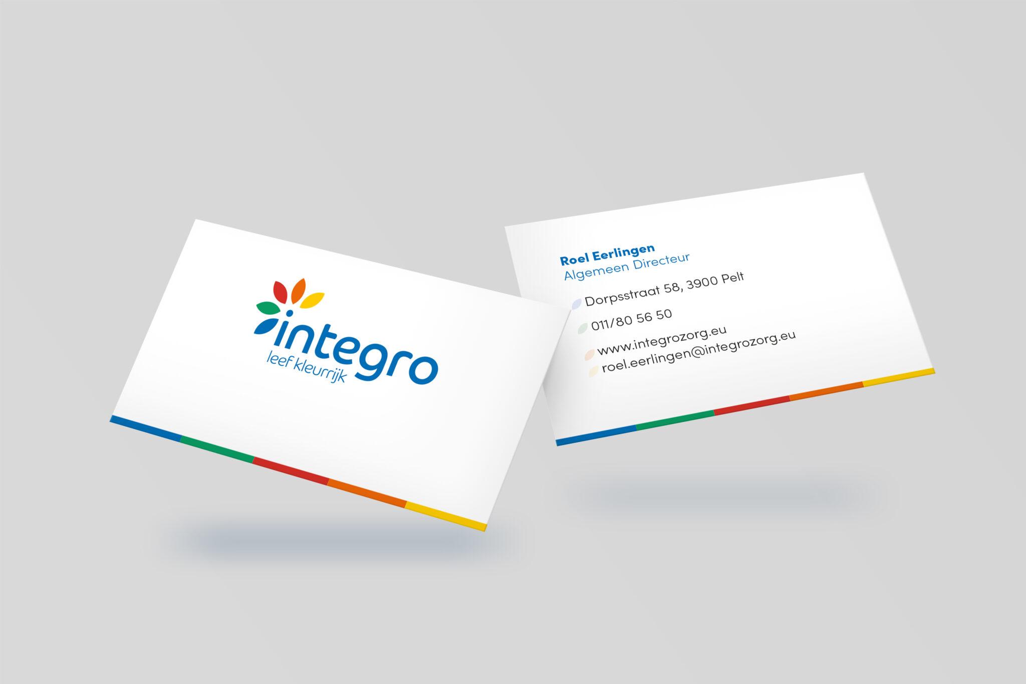 Visitekaartjes Integro