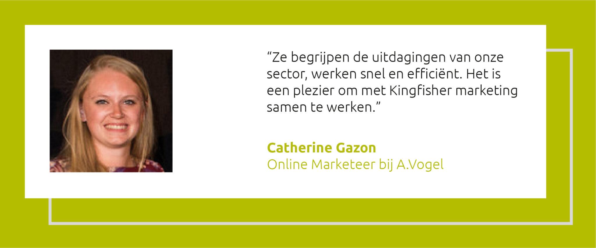 Quote Catherine Gazon A.Vogel