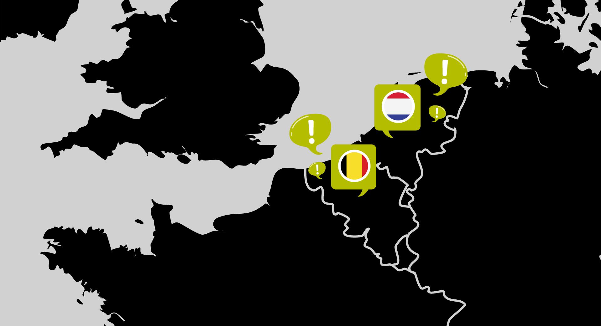 Vlaams en Nederlands - verschillen