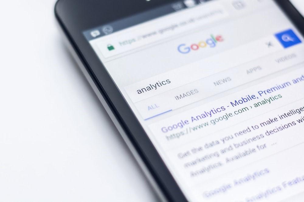 hoog in google verschijnen